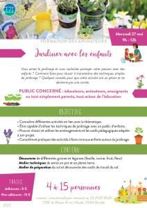 jardiner avec enfants