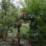 Une des entrées du jardin