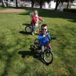 Mathilde, 6 ans et Gabriel, 4 ans
