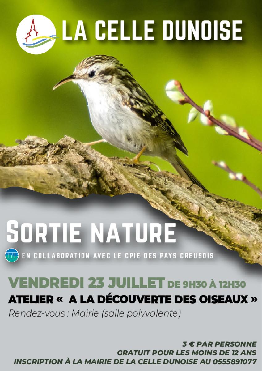 thumbnail of Flyer atelier oiseaux