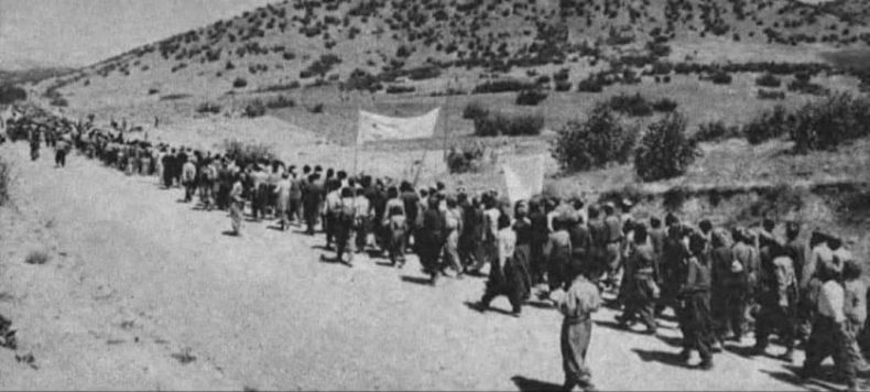 دو گفتگو از رفیق امیر حسن پور درباره کوچ تاریخی مردم مریوان | حزب کمونیست  ایران