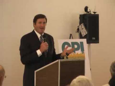 CPI Speaker Series: John Garamendi