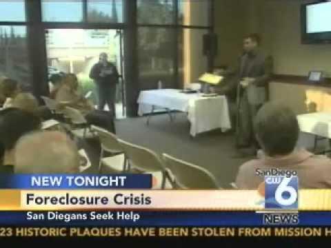 Foreclosure Crisis: San Diegans Seek Help, CW