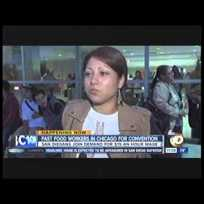 Fast-Food Workers Go to Chicago – Aug 1, 2014