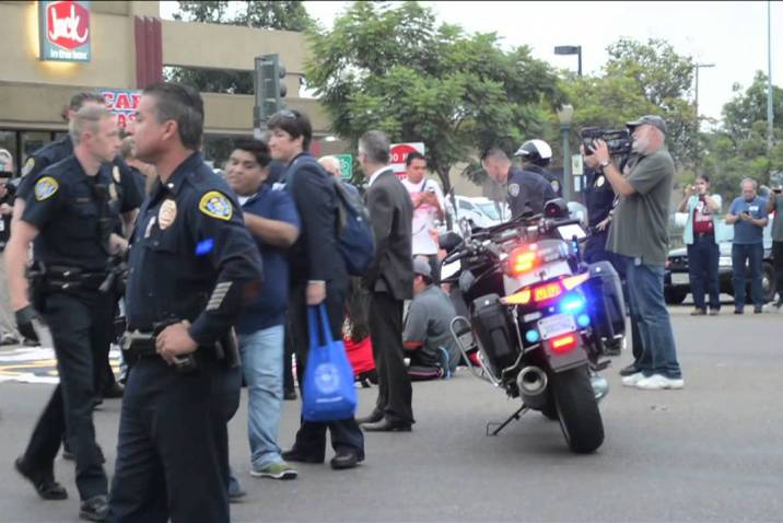 San Diego Fast Food Strike Sept 4, 2014