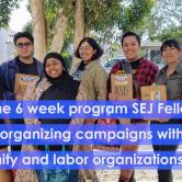Photo of SEJ 2019 fellows