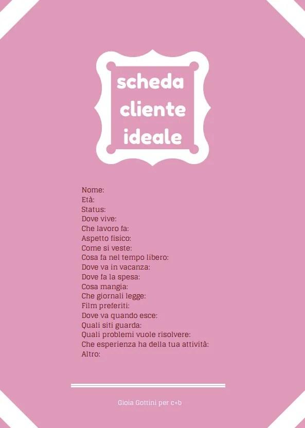 Scheda Cliente