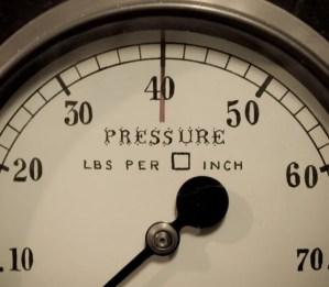 Lavorare sotto pressione