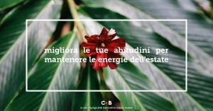 Tornare al lavoro con energia