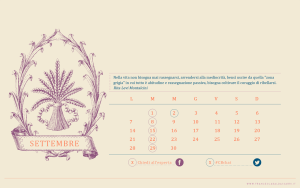 Calendario desktop scaricabile settembre 2015