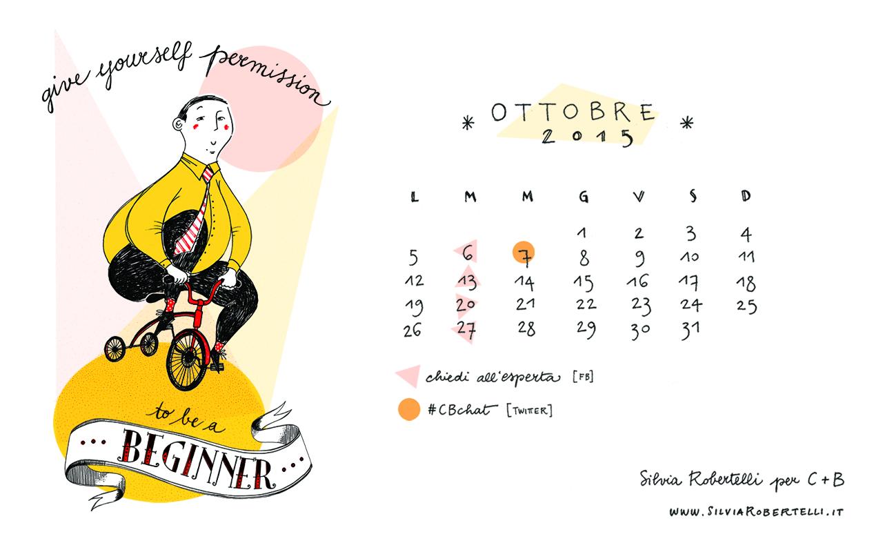Silvia Robertelli - Calendario Desktop Ottobre 2015 - 1280x800