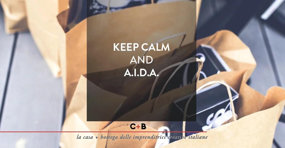 Keep calm and A.I.D.A
