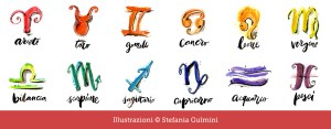 Oroscopo C+B di Primavera - Illustrazioni Stefania Gulmini