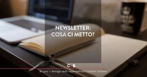 Newsletter: non solo vendere