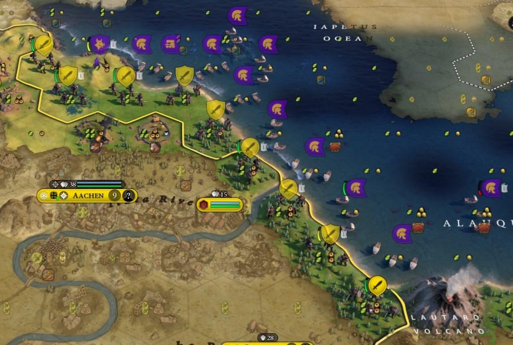 Legion Ocean Invasion