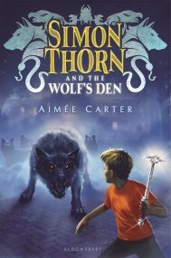 Simon Thorn and the Wolf's Den by Aimée Carter Simon Thorn could be considered an average 12-year-old, if average 12-year-olds could talk with animals. Simon, who keeps this ability secret, is the butt of jokes at school. But when his mother is kidnapped, Simon ends up on an adventure he could never have imagined, wherein he discovers that his family can shapeshift and that the most dangerous mammals of the world are out to get him Find it here
