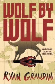 Wolf by Wolf by Ryan Graudin The first book in a duology about an alternate version of 1956 where the Axis powers won WWII, and hold an annual motorcycle race across their conjoined continents to commemorate their victory. Find it here