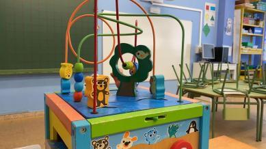 Detalle de juguete y PDI en EI