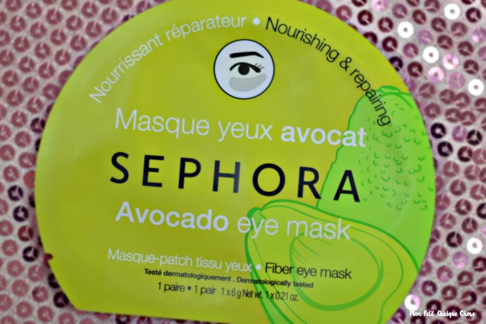 Les Masques en Tissu de Sephora, suis-je convaincue? - Mon Petit Quelque Chose