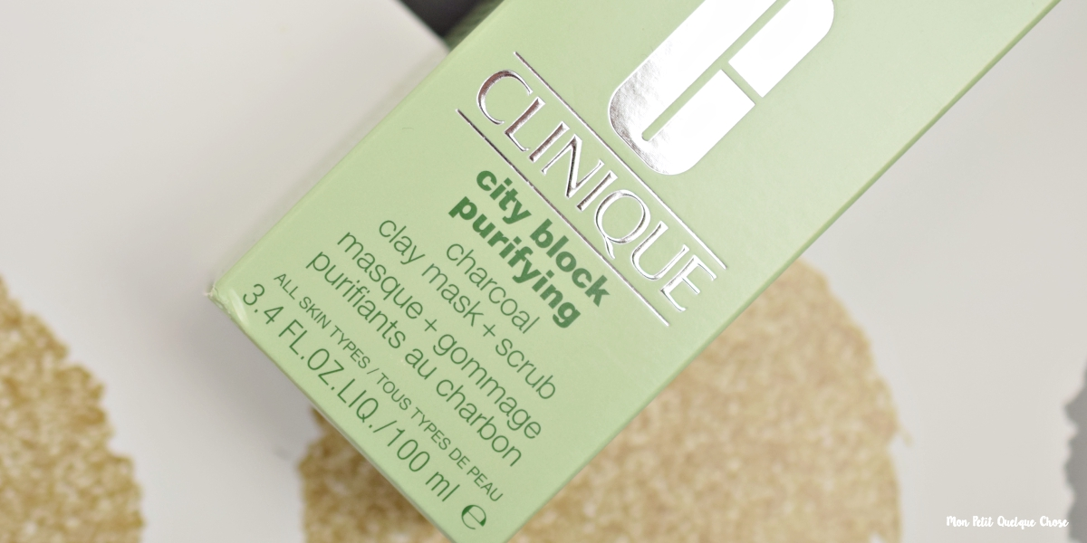 City Block Purifying, le masque qui nettoie tout de Clinique