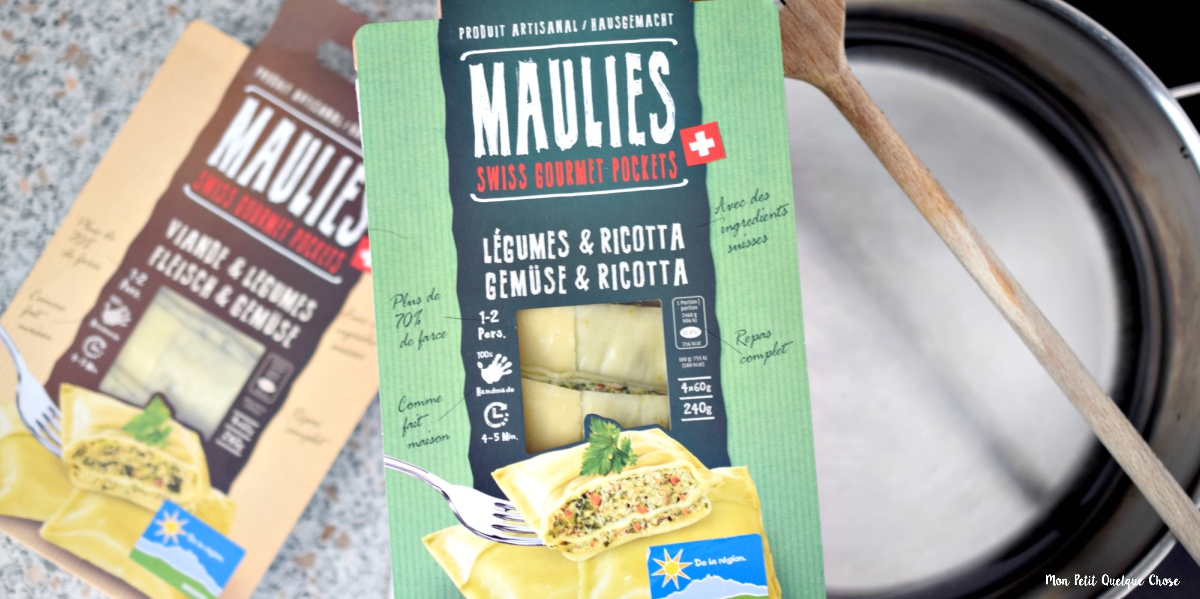 Maulies, les Swiss Gourmet Pockets!