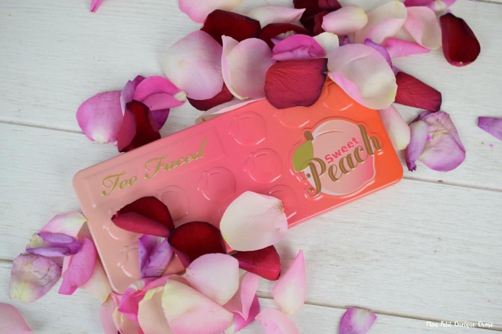 Concours : Gagnez votre palette Sweet Peach - Mon Petit Quelque Chose