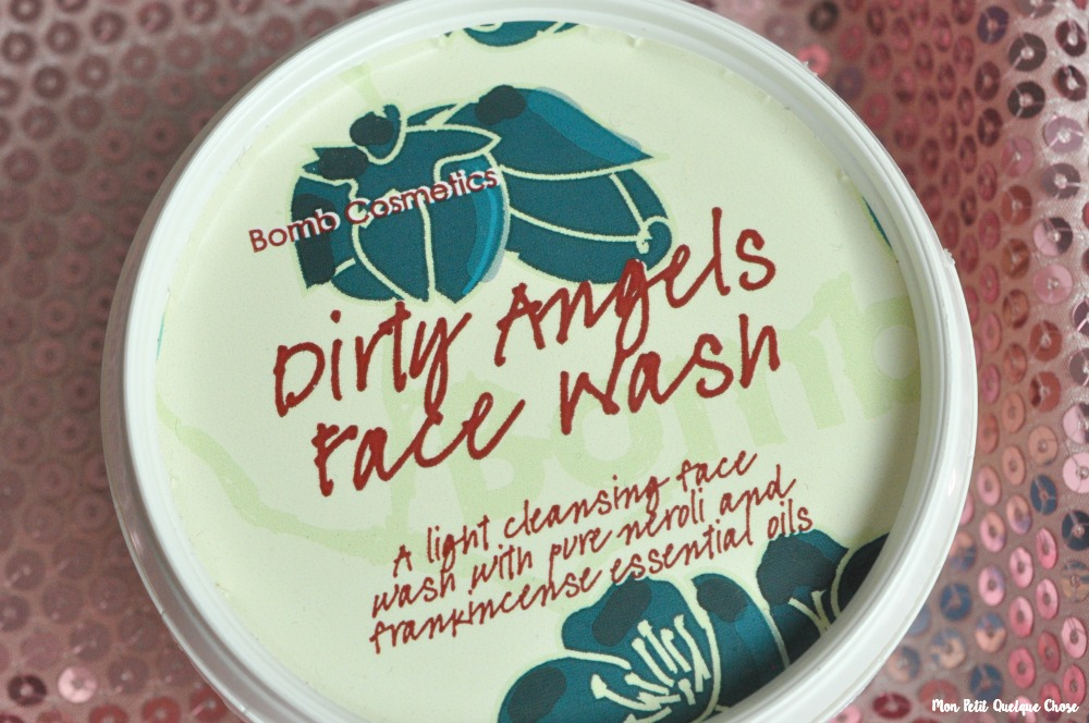 Dirty Angels Face Wash de Bomb Cosmetics - Mon Petit Quelque Chose