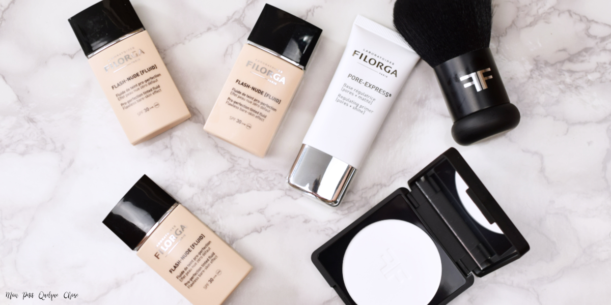 Un makeup Teint avec Filorga Flash Nude