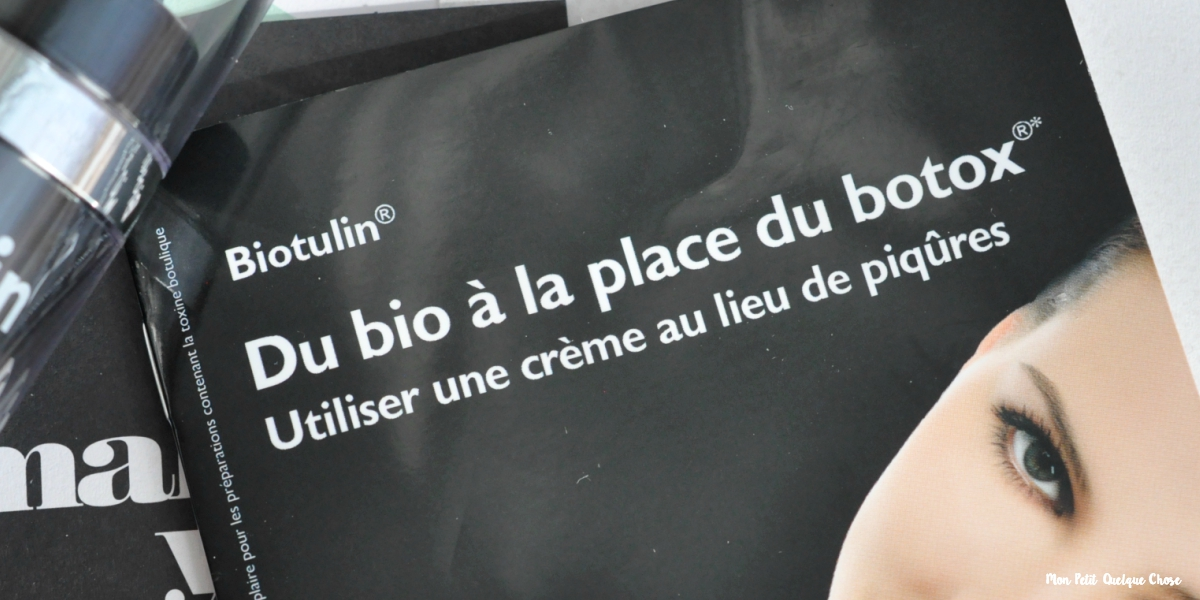 Biotulin, le botox naturel?