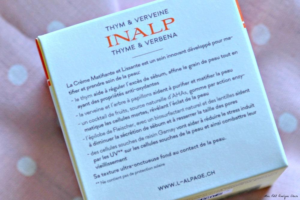 Inalp de L'Alpage - Mon Petit Quelque Chose