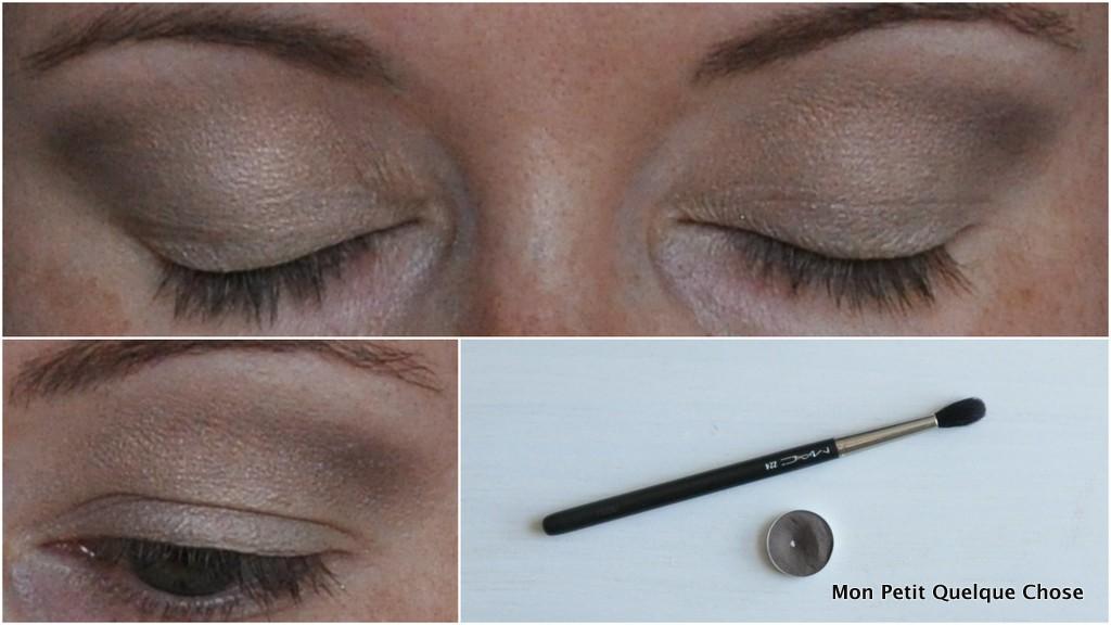 Makeup avec MAC : MAC Brun et 224