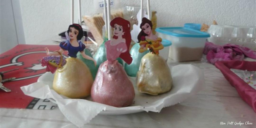 Un gâteau de princesse pour les Trolettes...