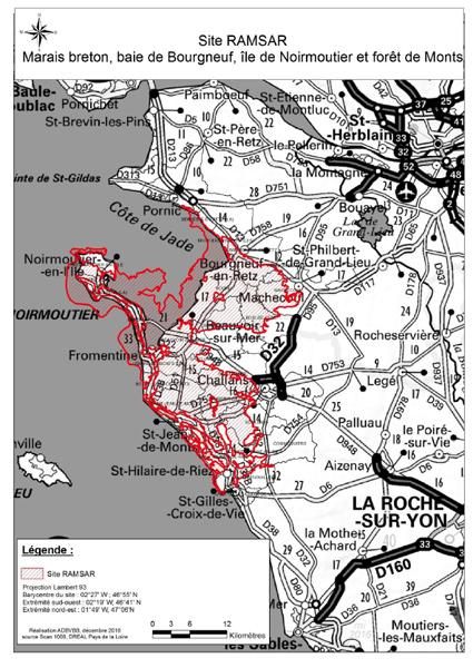 Le marais Breton et la baie de Bourgneuf inscrits en zone RAMSAR