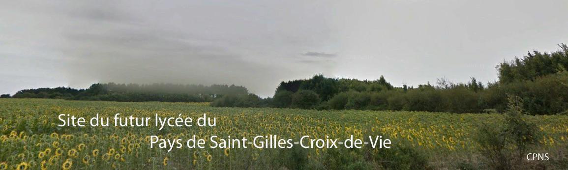 Emplacement du futur lycée du Pays de Saint-Gilles-Croix-de-Vie