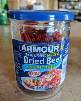 Dried Beef in a Jar