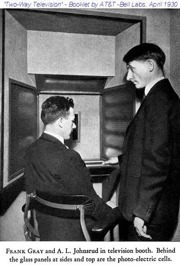 Френк Грей. Bell Lab 1930