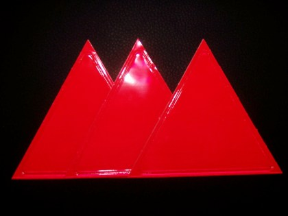 Red Sticky Triangle
