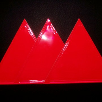 Red Sticky Triangle