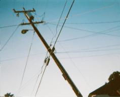 Telephone Pole and Sky