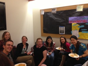 Grad Student Visiting Day Dinner