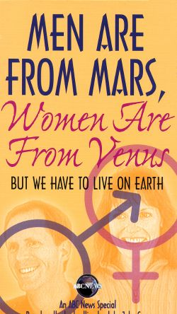 Men Are From Mars, Women Are From Venus - But We Have to ...