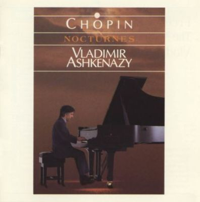 Cover art of the Chopin Nocturnes, played by Vladimir Ashkenazy.