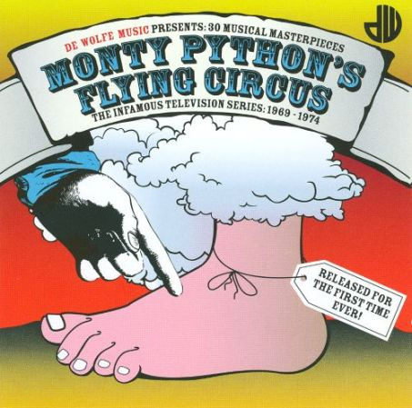 Monty Python flying circus logo Terry Gilliam