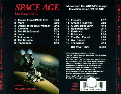 Space Age - Jay Chattaway | Songs, Reviews, Credits | AllMusic