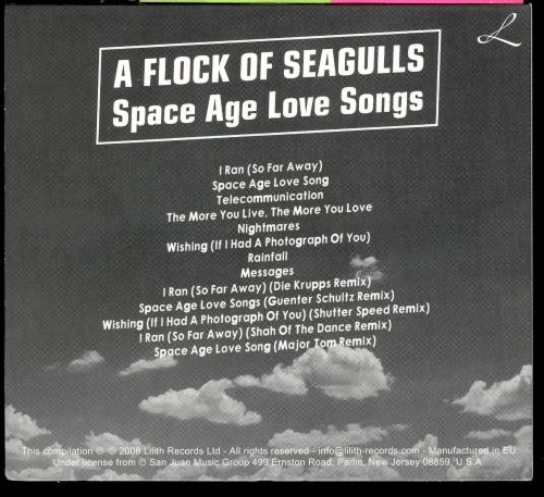 Space Age Love Songs - A Flock of Seagulls | Songs ...