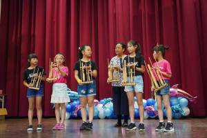 品德教育,議題融入,新住民語文,教案撰寫,兒歌,樂器