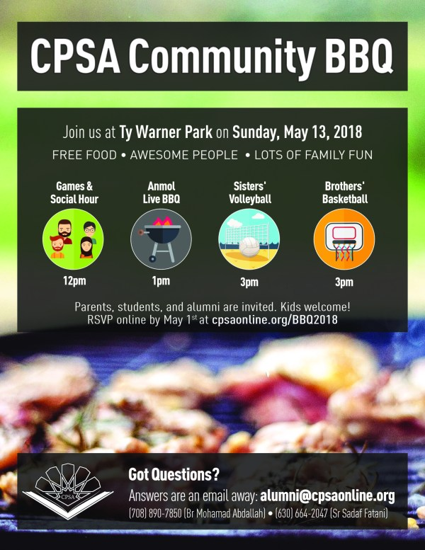 CPSA Community Barbecue 2018 | CPSA – College Preparatory