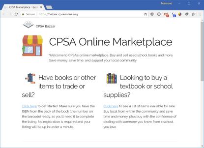 CPSA Marketplace