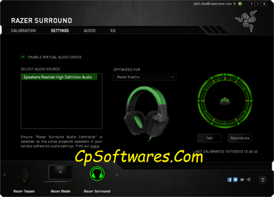 Razer Surround Pro License Key Crack Download