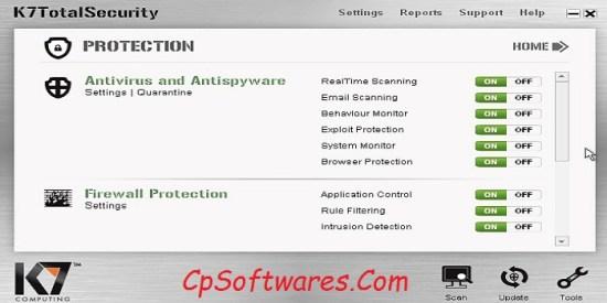k7 Total Security Crack + Activation Key Full Free Download